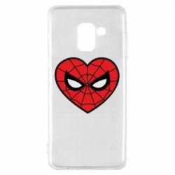 Чохол для Samsung A8 2018 Love spider man