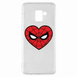 Чохол для Samsung A8+ 2018 Love spider man