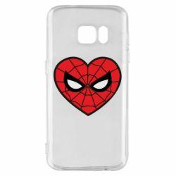 Чохол для Samsung S7 Love spider man