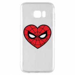 Чохол для Samsung S7 EDGE Love spider man