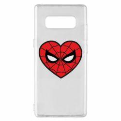Чохол для Samsung Note 8 Love spider man