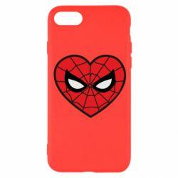 Чохол для iPhone 8 Love spider man