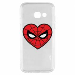 Чохол для Samsung A3 2017 Love spider man