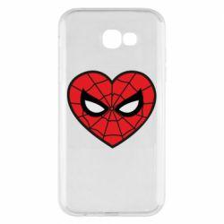 Чохол для Samsung A7 2017 Love spider man