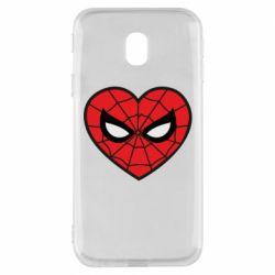 Чохол для Samsung J3 2017 Love spider man