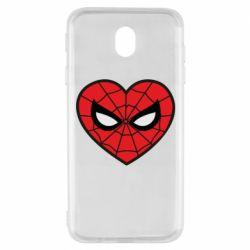 Чохол для Samsung J7 2017 Love spider man