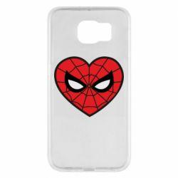 Чохол для Samsung S6 Love spider man