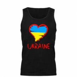 Мужская майка Love Ukraine - FatLine