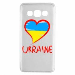 Чохол для Samsung A3 2015 Love Ukraine