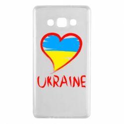 Чохол для Samsung A7 2015 Love Ukraine