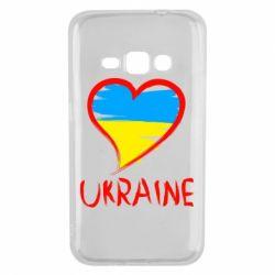 Чохол для Samsung J1 2016 Love Ukraine