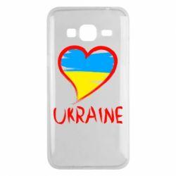 Чохол для Samsung J3 2016 Love Ukraine