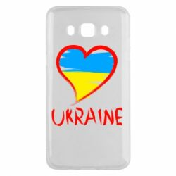 Чохол для Samsung J5 2016 Love Ukraine