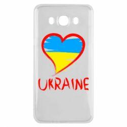 Чохол для Samsung J7 2016 Love Ukraine
