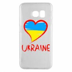 Чохол для Samsung S6 EDGE Love Ukraine