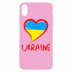 Чохол для iPhone Xs Max Love Ukraine