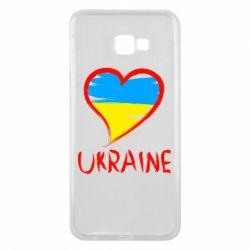 Чохол для Samsung J4 Plus 2018 Love Ukraine