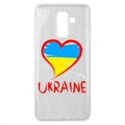 Чохол для Samsung J8 2018 Love Ukraine