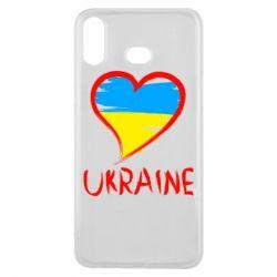 Чохол для Samsung A6s Love Ukraine
