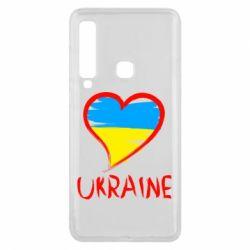 Чохол для Samsung A9 2018 Love Ukraine