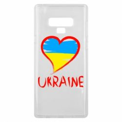 Чохол для Samsung Note 9 Love Ukraine