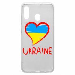 Чохол для Samsung A30 Love Ukraine