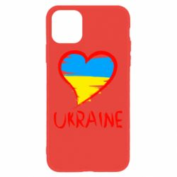 Чохол для iPhone 11 Love Ukraine
