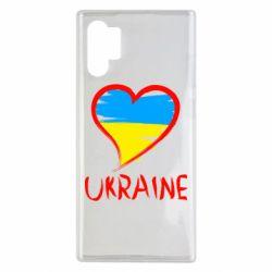 Чохол для Samsung Note 10 Plus Love Ukraine