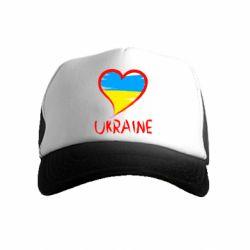 Дитяча кепка-тракер Love Ukraine
