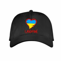 Дитяча кепка Love Ukraine