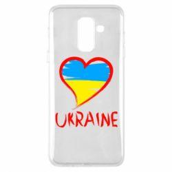 Чохол для Samsung A6+ 2018 Love Ukraine