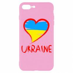 Чохол для iPhone 7 Plus Love Ukraine