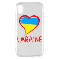Чохол для iPhone X/Xs Love Ukraine