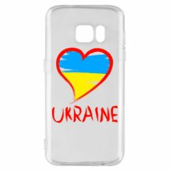 Чохол для Samsung S7 Love Ukraine