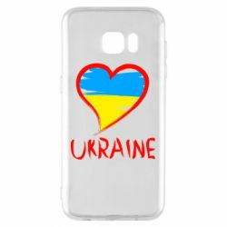 Чохол для Samsung S7 EDGE Love Ukraine