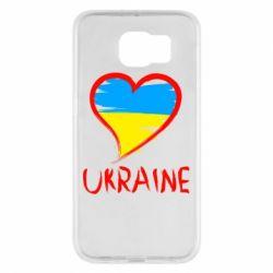 Чохол для Samsung S6 Love Ukraine