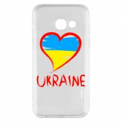 Чохол для Samsung A3 2017 Love Ukraine