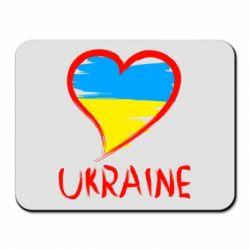 Коврик для мыши Love Ukraine - FatLine