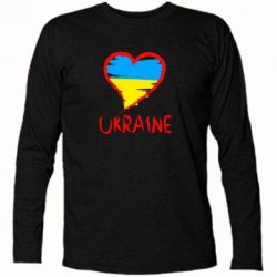 Футболка с длинным рукавом Love Ukraine - FatLine