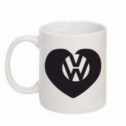 Кружка 320ml Love Volkswagen - FatLine