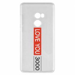 Чехол для Xiaomi Mi Mix 2 Love you 3000