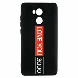 Чехол для Xiaomi Redmi 4 Pro/Prime Love you 3000