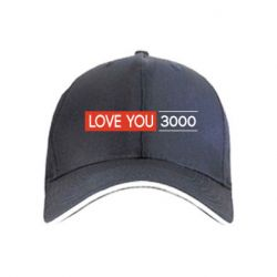 Кепка Love you 3000