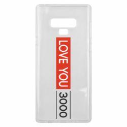 Чехол для Samsung Note 9 Love you 3000