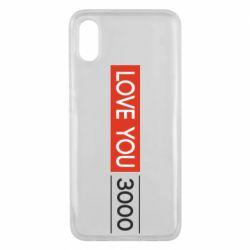 Чехол для Xiaomi Mi8 Pro Love you 3000