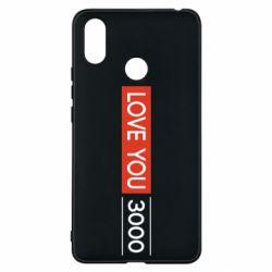 Чехол для Xiaomi Mi Max 3 Love you 3000