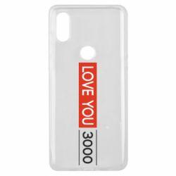 Чехол для Xiaomi Mi Mix 3 Love you 3000