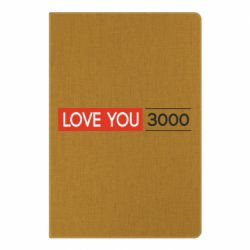 Блокнот А5 Love you 3000
