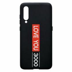 Чехол для Xiaomi Mi9 Love you 3000