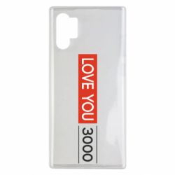 Чехол для Samsung Note 10 Plus Love you 3000
